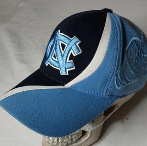 North Carolina Tarheels multi color flexfit hat